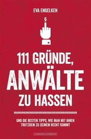 111 Gründe, Anwälte zu hassen - copertina