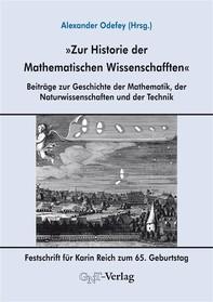 Zur Historie der Mathematischen Wissenschafften - Librerie.coop