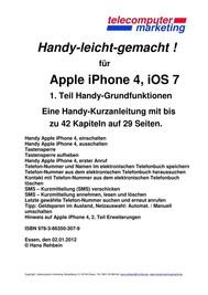 Apple iPhone 4, iOS 7 - copertina