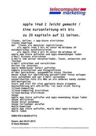 apple iPad 2 leicht-gemacht - copertina