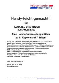 Alcatel One Touch 300, 301, 302, 303-leicht-gemacht - copertina