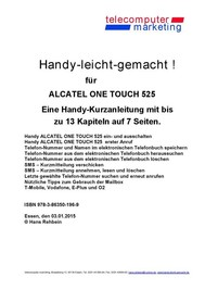 Alcatel One Touch 525-leicht-gemacht - copertina