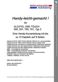 Alcatel One Touch 500, 501, 700, 701 Typ 2-leicht-gemacht - copertina