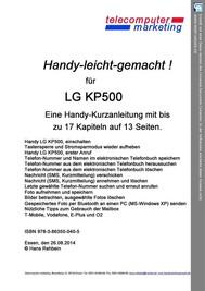 LG KP500 leicht-gemacht - copertina