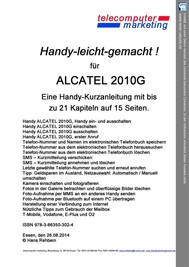 ALCATEL 2010G leicht-gemacht - copertina