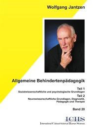 Allgemeine Behindertenpädagogik - copertina