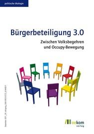 Bürgerbeteiligung 3.0 - copertina