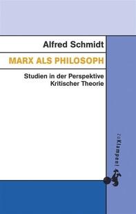 Marx als Philosoph - Librerie.coop