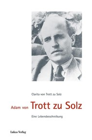 Adam von Trott zu Solz - copertina