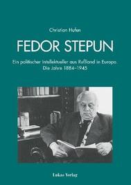 Fedor Stepun - copertina