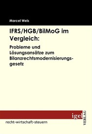 IFRS /HGB /BilMoG im Vergleich: Probleme und Lösungsansätze zum Bilanzrechtsmodernisierungsgesetz - copertina