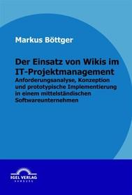 Der Einsatz von Wikis im IT-Projektmanagement - copertina