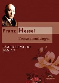 Franz Hessel: Prosasammlungen - Librerie.coop