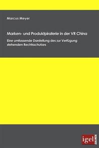 Marken- und Produktpiraterie in der VR China - Librerie.coop