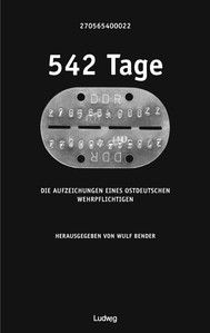 542 Tage - copertina