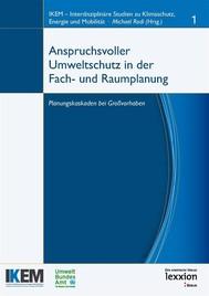 Anspruchsvoller Umweltschutz in der Fach- und Raumplanung - copertina