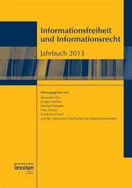 Informationsfreiheit und Informationsrecht - copertina
