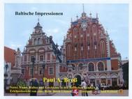 Baltische Impressionen - copertina