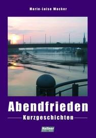 Abendfrieden - copertina