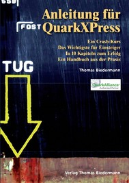 Anleitung für QuarkXPress - copertina