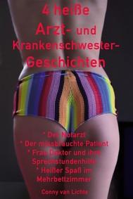 4 heiße Arzt- und Krankenschwester-Geschichten - copertina