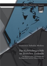 Das Nichtrechtsgeschäft im deutschen Zivilrecht: Ein Beitrag zu den Tatbeständen des Rechtsgeschäfts und der Willenserklärung - copertina