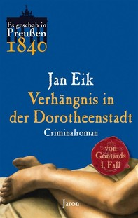 Verhängnis in der Dorotheenstadt - Librerie.coop