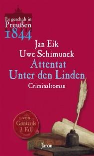 Attentat Unter den Linden - copertina