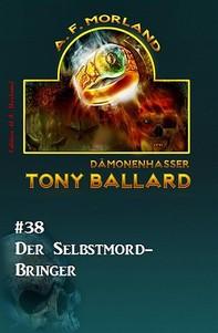 Tony Ballard #38: Der Selbstmord-Bringer - Librerie.coop