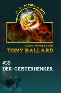Tony Ballard #59: Der Geisterhenker - Librerie.coop