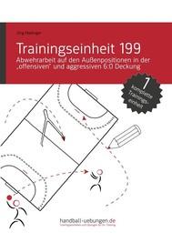"""Abwehrarbeit auf den Außenpositionen in der """"offensiven"""" und aggressiven 6:0 Deckung (TE 199) - copertina"""