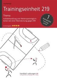 Auftakthandlung und Weiterspielmöglichkeiten bei einer Manndeckung gegen RM (TE 219) - copertina