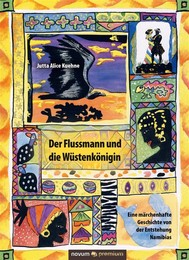 Der Flussmann und die Wüstenkönigin - The River Man and the Desert Queen - copertina
