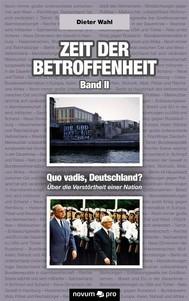 Zeit der Betroffenheit – Band II - copertina