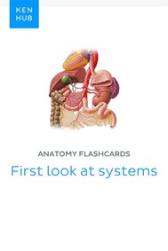Anatomy flashcards: First look at systems - copertina