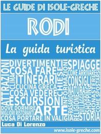 Rodi - La guida di isole-greche.com - Librerie.coop