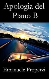 Apologia del piano B - copertina