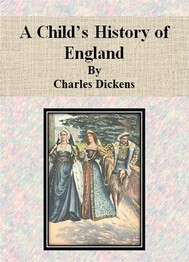 A Child's History of England by Charles Dickens - copertina