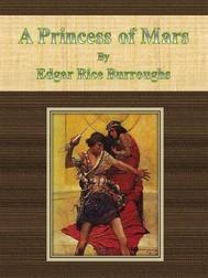 A Princess of Mars by Edgar Rice Burroughs - copertina