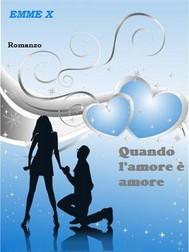 Quando l'amore è amore - copertina