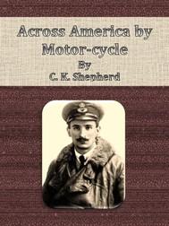 Across America by Motor-cycle - copertina