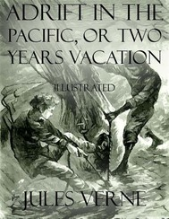 Adrift In the Pacific, or Two Years Vacation: Illustrated  - copertina