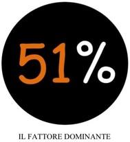 51% il fattore dominante - copertina