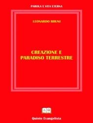 Creazione e Paradiso Terrestre - copertina