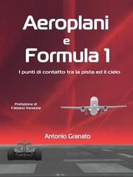Aeroplani e Formula 1 - copertina