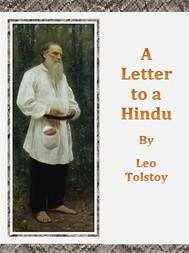 A Letter to a Hindu - copertina