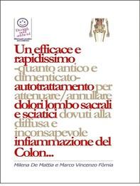 Un efficace e rapidissimo  -quanto antico e dimenticato-  autotrattamento per attenuare/annullare dolori lombo sacrali e sciatic - Librerie.coop