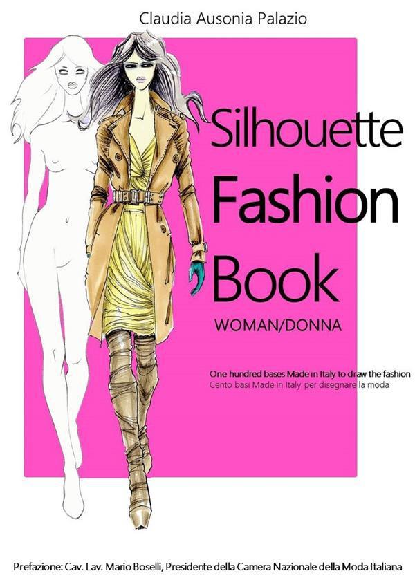 Fashion Book Covers : Silhouette fashion book claudia ausonia palazio ebook