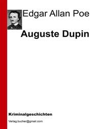 Auguste Dupin - copertina