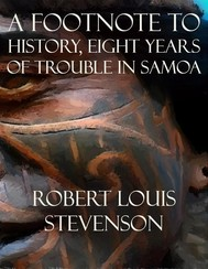 A Footnote to History, Eight Years of Trouble in Samoa - copertina